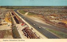 spof020792 - Daytona International Speeway Automobile Racing, Race Car Postcard