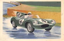 spof020800 - Voiture de course Jaguar Automobile Racing, Race Car Postcard