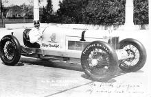 spof020803 - AAA Champion 1925-1927 Real Photo Automobile Racing, Race Car Postcard