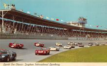 spof020804 - spofrts Car Classic, Daytona International Speeway Automobile Racing, Race Car Postcard