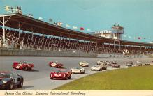 spof020805 - spofrts Car Classic, Daytona International Speeway Automobile Racing, Race Car Postcard