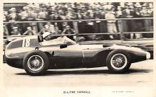 spof020807 - 2.5 Litre Vanwall Automobile Racing, Race Car Postcard