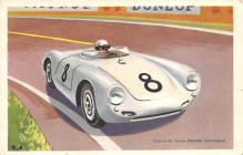 spof020812 - Voiture de course Porsche Automobile Racing, Race Car Postcard