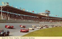 spof020816 - spofrts Car Classic, Daytona International Speeway Automobile Racing, Race Car Postcard