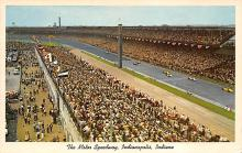 spof020830 - Indianapolis Motor Speedway Automobile Racing, Race Car Postcard