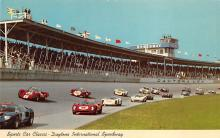 spof020835 - spofrts Car Classic, Daytona International Speeway Automobile Racing, Race Car Postcard