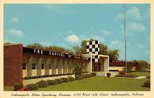 spof020841 - Indianapolis Motor Speedway Museum Automobile Racing, Race Car Postcard