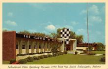 spof020842 - Indianapolis Motor Speedway Museum Automobile Racing, Race Car Postcard