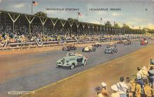 spof020844 - Indianapolis Speedway Automobile Racing, Race Car Postcard