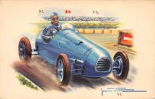 spof020847 - Simca Gordini Automobile Racing, Race Car Postcard