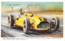 spof020850 - Lago Talbot Automobile Racing, Race Car Postcard