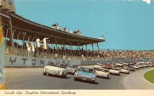 spof020853 - Parade Lap, Daytona International Speeway Automobile Racing, Race Car Postcard