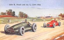 spof020854 - John B Heath and his 1.5 Litre Alta Automobile Racing, Race Car Postcard