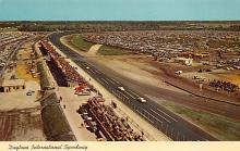 spof020856 - Daytona International Speeway Automobile Racing, Race Car Postcard