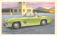 spof020861 - Merces 300SL Automobile Racing, Race Car Postcard