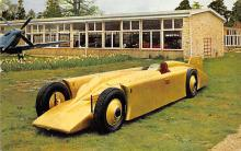 spof020872 - Montagu Motor Museum, Golden Arrow Automobile Racing, Race Car Postcard