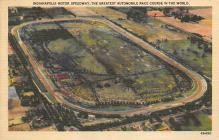 spof020876 - Indianapolis Motor Speedway Automobile Racing, Race Car Postcard