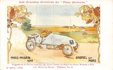 spof020879 - Paris Madrid 1903, Gabriel sur Mors Automobile Racing, Race Car Postcard