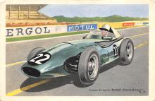 spof020881 - Voiture de course Vanwall Automobile Racing, Race Car Postcard