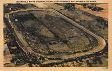 spof020883 - Indianapolis Motor Speedway Automobile Racing, Race Car Postcard