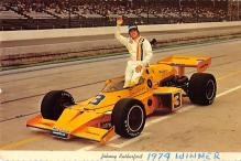 spof020886 - Johnny Rutherford Winner of 1974 Automobile Racing, Race Car Postcard