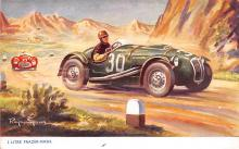 spof020916 - 2 Litre Frazer Nash Automobile Racing, Race Car Postcard