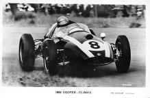 spof020917 - 1959 Cooper Climax Automobile Racing, Race Car Postcard