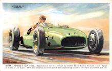 spof020919 - BRM Formula 1 GP Type Automobile Racing, Race Car Postcard