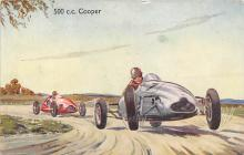 spof020922 - 500 CC Cooper Automobile Racing, Race Car Postcard