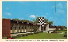 spof020925 - Indianapolis Motor Speedway Museum Automobile Racing, Race Car Postcard