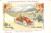 spof020926 - Paris Vienne 1902, Marcel Renault Automobile Racing, Race Car Postcard