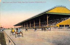 spof021024 - Syracuse NY racing postcard