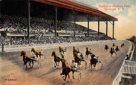 spof021025 - Syracuse Racing  postcard