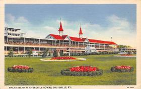 spof021036 - Louisville, KY USA Horse Racing Postcard