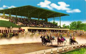 spof021066 - Lexington, Kentucky, USA Horse Racing Postcard