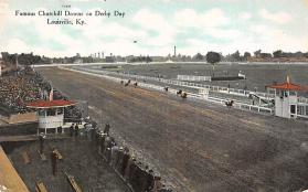 spof021067 - Louisville, KY USA Horse Racing Postcard