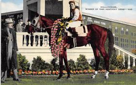 spof021077 - Gallahadion, Kentucky Derby, USA Horse Racing Trotter, Postcard