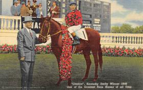 spof021094 - Citation  Horse Racing Trotter, Postcard