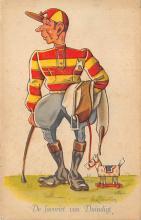 spof021403 - Horse Racing, Trotters, Postcard