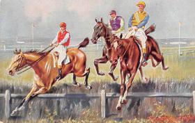 spof021435 - Horse Racing, Trotters, Postcard