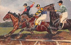 spof021443 - Horse Racing, Trotters, Postcard