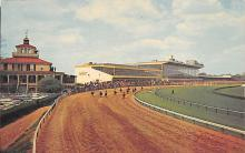 spof021451 - Pimlico Race Course, Baltimore, Maryland, USA Horse Racing, Trotters, Postcard