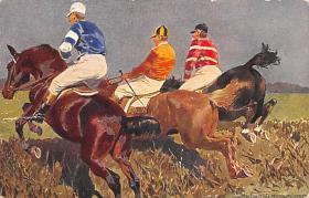 spof021453 - Horse Racing, Trotters, Postcard