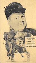spof021465 - David Harum on the air, NBC Network, Horse Racing, Trotters, Postcard