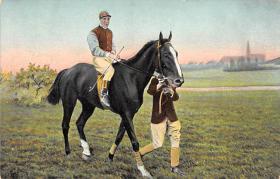 spof021490 - Horse Racing, Trotter, Trotters, Postcard
