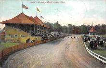 spof021494 - Driving Park Horse Racing, Trotter, Trotters, Postcard