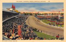 spof021495 - The Finish Churchill Downs Horse Racing, Trotter, Trotters, Postcard