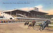 spof021499 - Hagerstown Race Track Horse Racing, Trotter, Trotters, Postcard