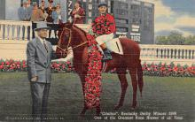 spof021516 - One of the Greatest Racehorses of all Time Horse Racing, Trotter, Trotters, Postcard
