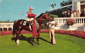 spof021530 - Louisville, Ky, Usa Horse Racing Postcard
